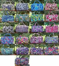 VERA BRADLEY Large Duffel Travel Bag NEW Tote Travel Bag  College Dorm