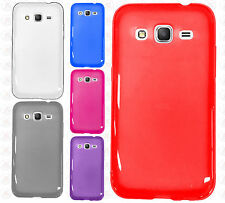 For Samsung Galaxy Prevail LTE TPU CANDY Gel Flexi Skin Case Phone Cover