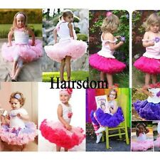 High Quality~Kids Girls Tütü Röcke Skirt Pettiskirt Ballet Princess Petticoat