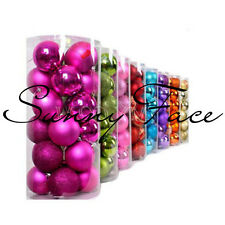 Hot sales Round Christmas Balls Baubles Xmas Tree Decorations Christmas Ornament