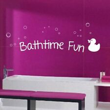 Bathroom Fun Wall Quote bath decal vinyl quotes sticker mural transfer