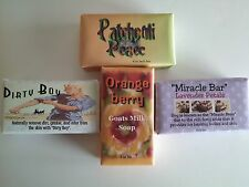 Handmade natural soap, Lavender, Orange Berry, Patchouli and Dirty Boy Soap