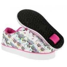 Heelys Launch Kids'/Adult Size Wheel Shoes/Trainers/Skates - Shades White