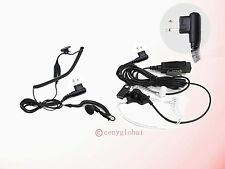 Surveillance Ear Earpiece Headset Mic For Motorola Radius Handheld Radio Series