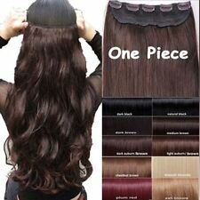 Magnificent Heat Resistant Synthetic Clip In Hair Extensions USPS 1 Class Ship