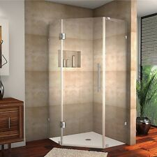 Aston Neoscape 42-inch x 42-inch 72-inch Frameless Neo-Angle Shower Enclosure