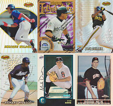 Baseball Refractors from 1996 to Present for Various Brands.