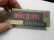 VINTAGE L&S MIRROLURE  BOX ONLY OOM19 LURE BOX
