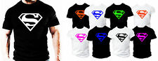 Superman BODYBUILDING Gym Casual Wear workout training clothes T SHIRT top tee