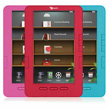 """Ematic 7"""" TFT LCD Color eBook Reader with Kobo, MP3, & Video Player - EB105"""