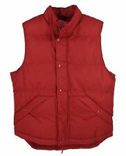 Puffer Vest Marty McFly Back to the Future Red Rust Costume ADULT