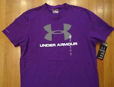 NWT Under Armour Shirt Mens Sportstyle Logo Charged Cotton SMALL LARGE Pride
