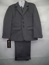 Boys Grey 5 Piece Suit - Formal, Wedding, Communion - Various Sizes - Box6017 B