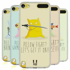 HEAD CASE PILLOW DEATHMATCH SILICONE GEL CASE FOR APPLE iPOD TOUCH 5G 5TH GEN