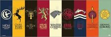 Poster Game Of Thrones - House Sigils