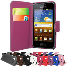 NEW PU LEATHER WALLET CASE COVER FOR SAMSUNG GALAXY-S ADVANCE i9070