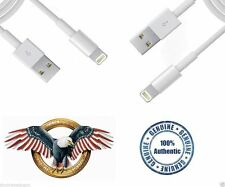 2X OEM Authentic Original Apple iPhone 6 6plus 5  Lightning Cord USB Data Cable