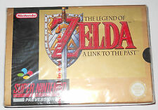 THE LEGEND OF ZELDA A LINK TO THE PAST SNES SUPER NES BRAND NEW SEALED ENGLISH