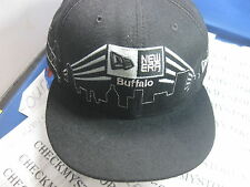 NWT BUFFALO BILLS  AUTHENTIC  NEW ERA 59FIFTY HAT CAP 100%WOOL MADE IN USA