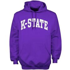 Mens Kansas State Wildcats Purple Bold Arch Hoodie - College