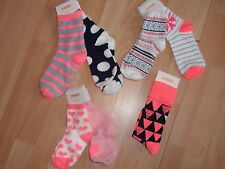 NWT GIRLS GYMBOREE SOCKS SZ 6-12, 12-24 MONTHS, 4, 5-7, 8-10 POLAR PINK
