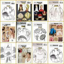 Renaissance Victorian Costume Accessories Historical OOP Butterick Sewin Pattern