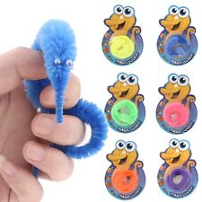 NEW Magic Twisty Fuzzy Worm Wiggle Moving Sea Horse Kids Trick Toy Caterpillar