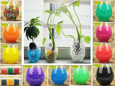 Funny WATER AQUA SOIL CRYSTAL GEL BALL BEADS WEDDING VASE FILLER CENTERPIECE K