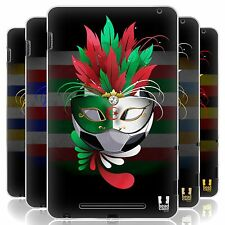 HEAD CASE FOOTBALL CARNIVAL SET 1 SILICONE GEL CASE FOR ASUS GOOGLE NEXUS 7