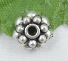 Wholesale 37/82Pcs Tibetan Silver  Spacer Beads 6x2mm(Lead-free)