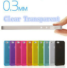 Colorful Ultra Slim 0.3mm Matte Clear Cover Protection Case Skin For iPhone 4 4S