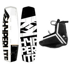 New 2016 Hyperlite Agent Mens Wakeboard Package with Agent Bindings
