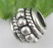 Wholesale 29/63Pcs Tibetan Silver  Spacer Beads 8x6mm(Lead-free)