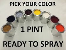 PICK YOUR COLOR - 1 PINT - Ready to Spray Paint for NISSAN CAR/TRUCK/SUV