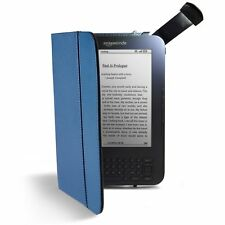 Kindle Lighted Leather Cover, Blue (Fits Kindle Keyboard) Genuine OEM Light