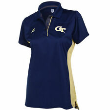 Georgia Tech Yellow Jackets Russell Women's Sideline Polo - Navy Blue - College