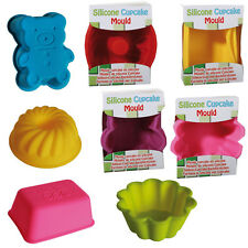 SILICONE CUPCAKE MOULD BAKING COOKING CAKE KITCHEN PARTY BAKE COOKIE BIRTHDAY