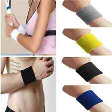 Stylish Cool Sports Unisex Cotton Sweatband Wristband Sweat Wrist Band Gym Yoga