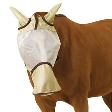 Centaur Super Long Nose Fly Mask w/ Ears. Full Horse size! Quality Horse Tack