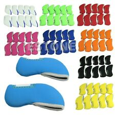 Durable Multicolor High Neoprene 10 x Cobra Golf Iron Head Covers Club New Gift