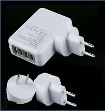 2.1A 4 USB Universal Wall Charger  Mobile Phone Charger For Home Travel Sale