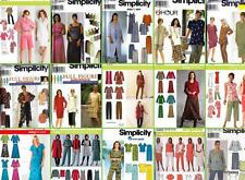 Simplicity Sewing Pattern Women's Separates  Plus SIzes 18W  to 28W  You Pick