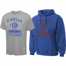 Kansas Jayhawks Royal Blue Hooded Sweatshirt/T-Shirt Combo Pack - College