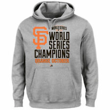San Francisco Giants 2014 World Series Champions Locker Room Hoodie - Gray - MLB