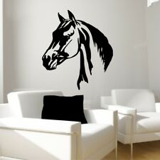 HORSE HEAD PROFILE wall decal bedroom kids vinyl wall graphic stickers