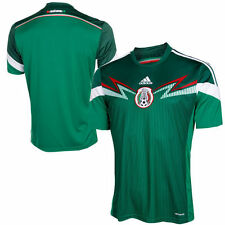Mexico adidas 2014/15 Replica Home Soccer Jersey - Green
