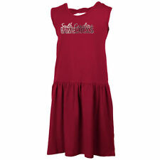 South Carolina Gamecocks Girls Youth Dropwaist Tank Dress – Garnet