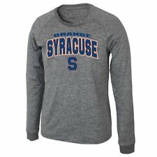 Syracuse Orange Slate Long Sleeve T-Shirt - Heather Gray - NCAA