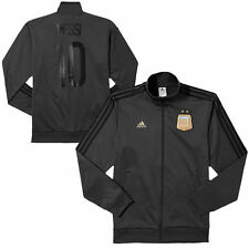 Mens Argentina adidas Charcoal Team Track Jacket