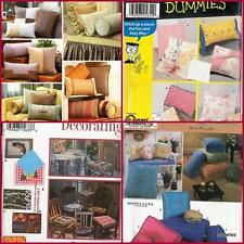 OOP Simplicity Sewing Pattern Home Decoration Pillows You Pick